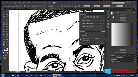 Skærmbillede Adobe Illustrator Windows 8