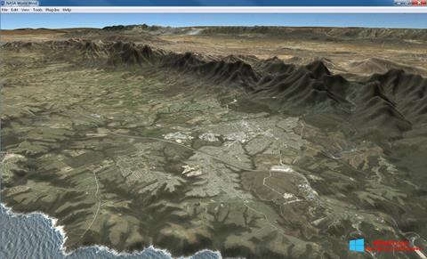 Skærmbillede NASA World Wind Windows 8