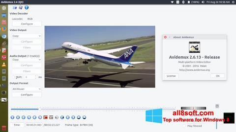 Skærmbillede Avidemux Windows 8