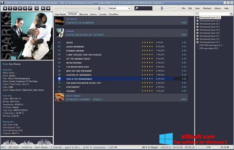 Skærmbillede Foobar2000 Windows 8