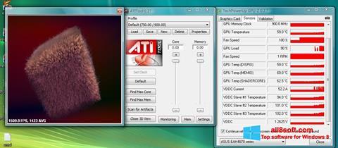 Skærmbillede ATITool Windows 8